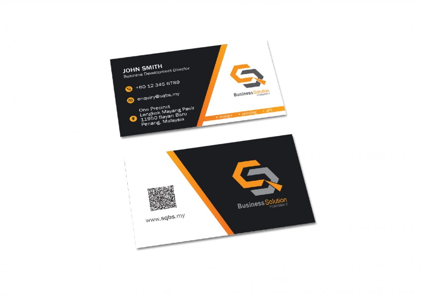 Business card ivory card print online 2u online design printing business card ivory card reheart Image collections