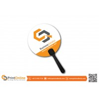 Hand Fan Synthetic Card